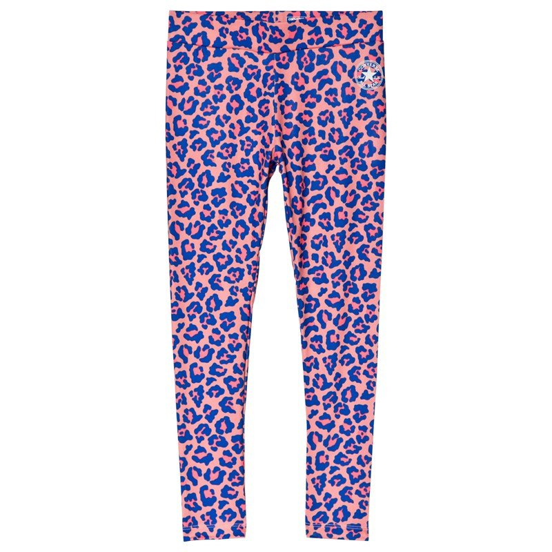Converse Leopard Leggings Lila 12-13 years