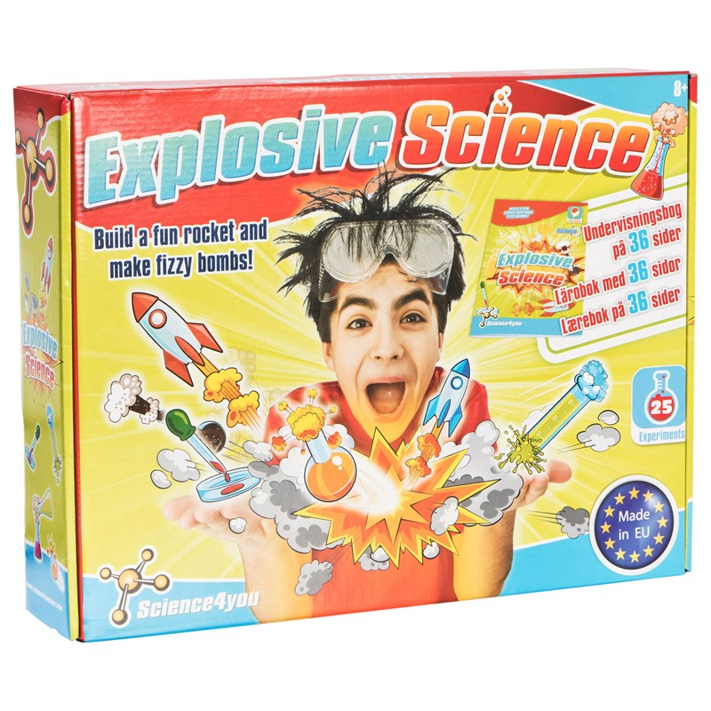 Science 4 You Explosive Science 8 – 12 years