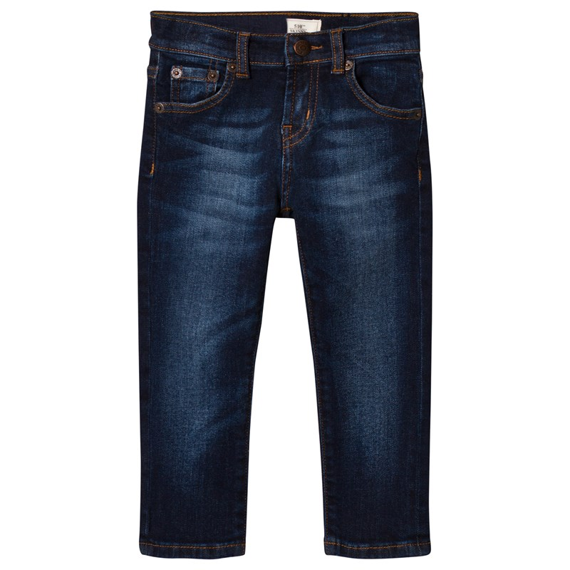 Levis Kids 510 Skinny Fit Jeans Dark Wash 6 years