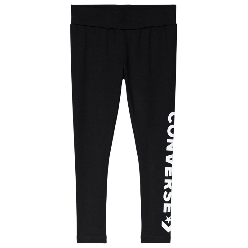 Converse Logo Star Leggings Svart 8-10 years