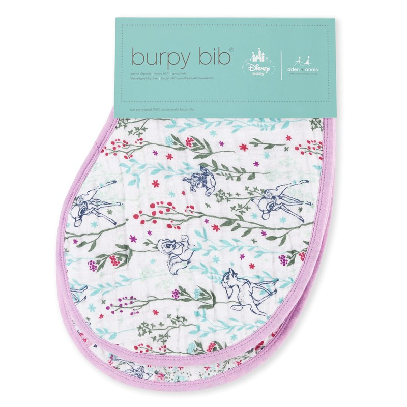 Aden + Anais 2-Pack Haklapp Bambi One Size