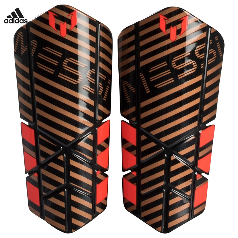 adidas Performance Gold Messi 10 Lesto Shin Benskydd L (12-14 years)