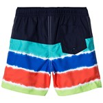 Lands' End Colorblock Badbyxor Tie Dye Stripe