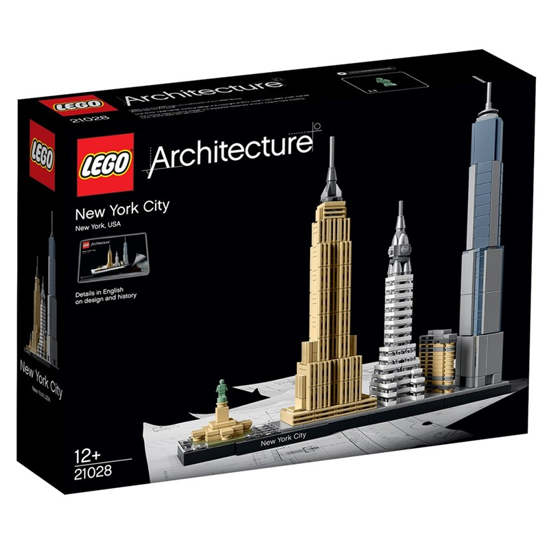 LEGO Architecture 21028 LEGO® Architecture New York City 12+ years