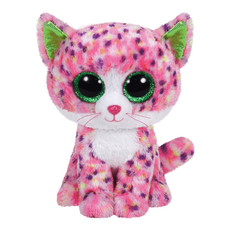 TY TY Beanie Boos, Sophie, Cat, Pink, 23 cm One Size
