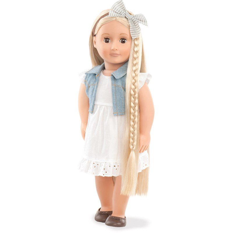Our Generation Phoebe Hair to There Doll 46cm 3 – 14 år
