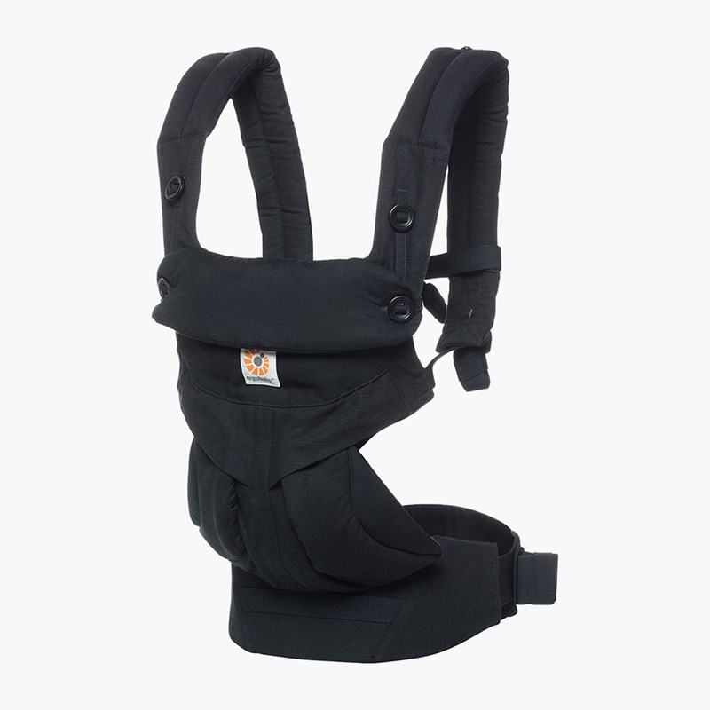 Ergobaby Bärsele 360 Pure Black 55-20 kg One Size