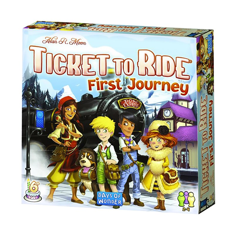 Days of Wonder Ticket To Ride First Journey (Nordic) 6+ years