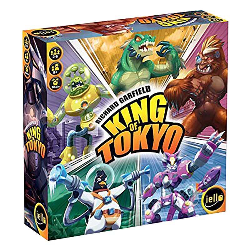 Iello King of Tokyo 8+ years