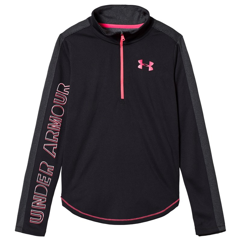 Under Armour Tech Trøje Sort/Rosa XL (16 years)