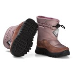 Naturino Varna Waterproof Suede Boots Dusty Pink