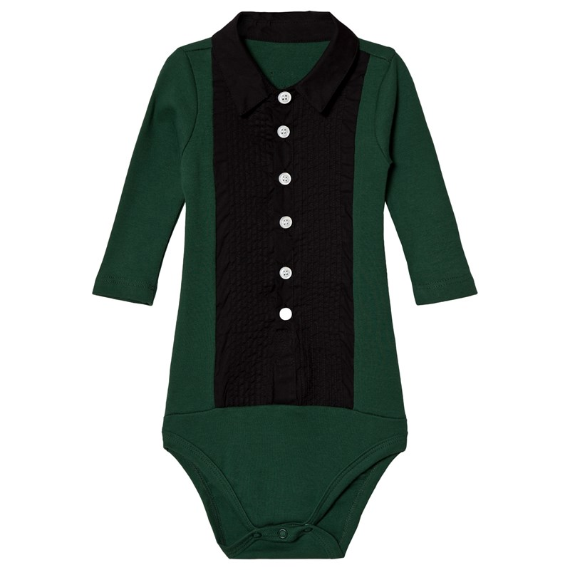 The Tiny Baby Body Smoking Deep Green0-3 months (62)