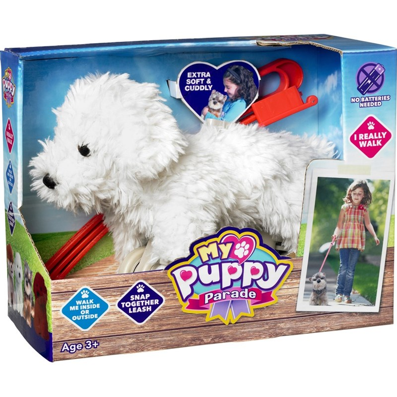 Play My Puppy Parade Charlie the Bichon Bichon med koppel 3 – 12 years