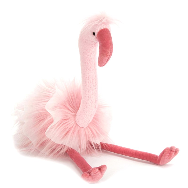 Jellycat Mad Menagerie Flo Flamingo 0 - 12 years