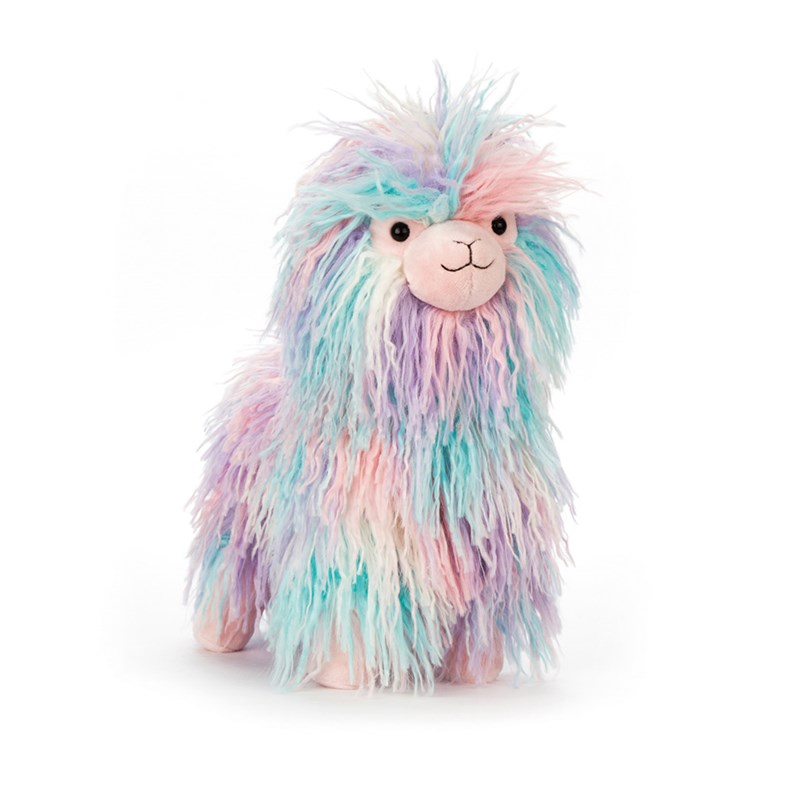 Jellycat Mad Menagerie Lovely Lama 0 - 12 years