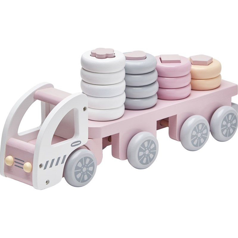 Kids Concept Plocklastbil II Rosa One Size