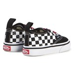 Vans Black and White Checkboard Infants Authentic Trainers