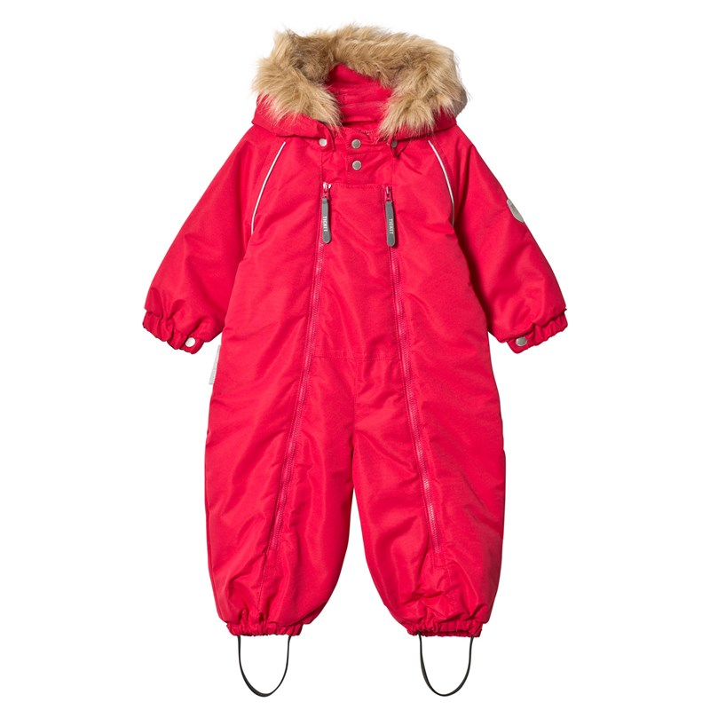 Ticket To Heaven Baggie Overall Barberry Red 74 cm (6-9 mån)