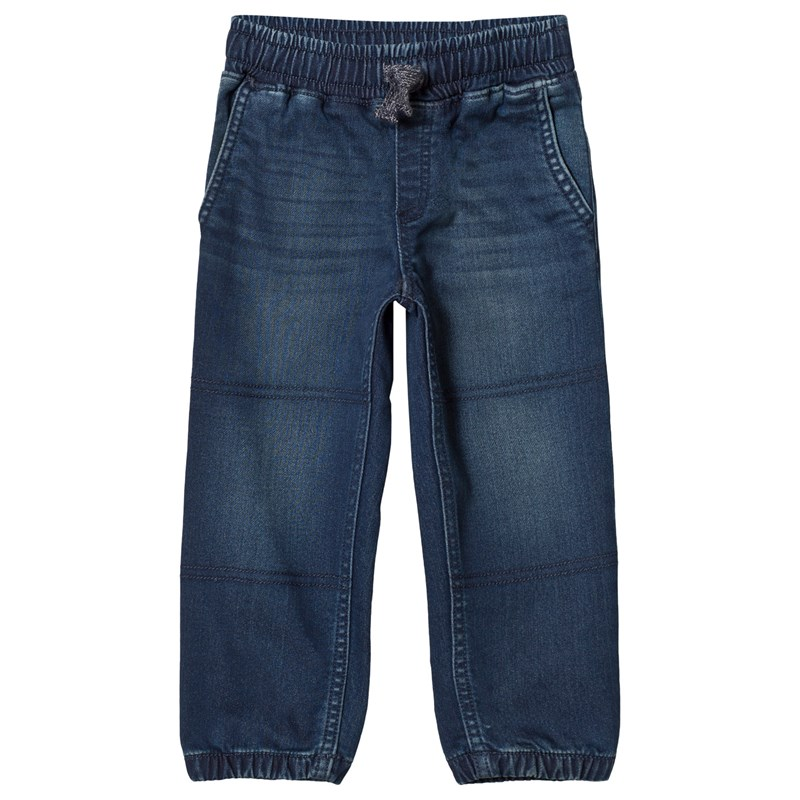 Lands' End Pull-Up Jeans Dark Wash 5-6 years