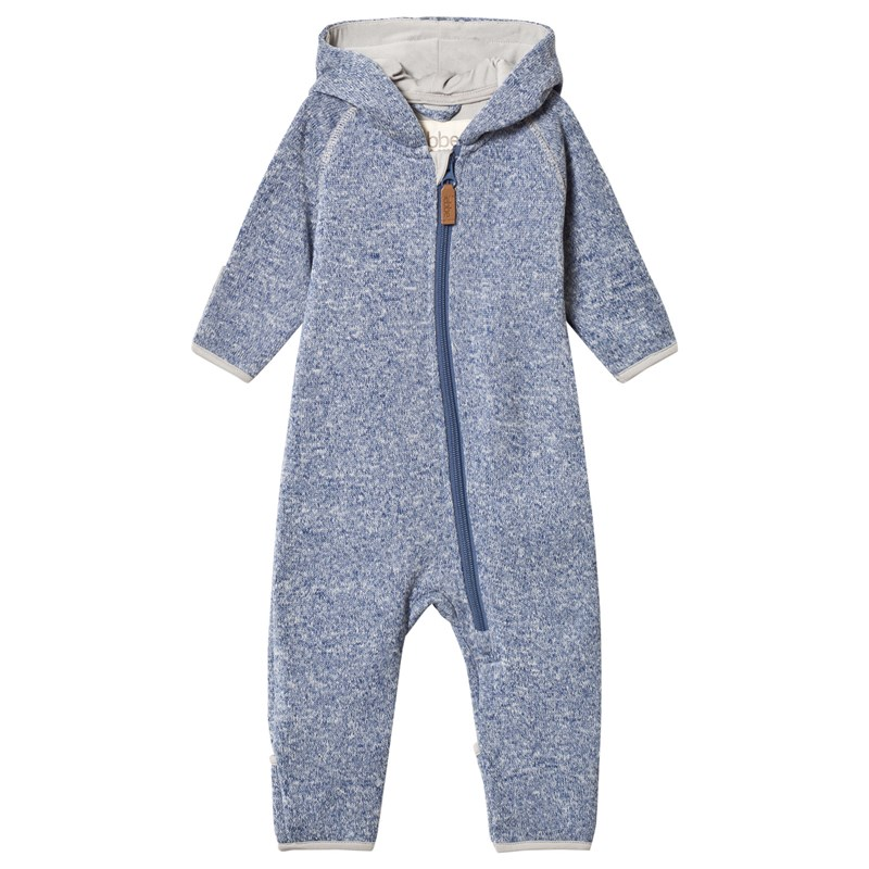 ebbe Kids Mags Fleece One-Piece Washed Navy 86 cm (1-15 år)