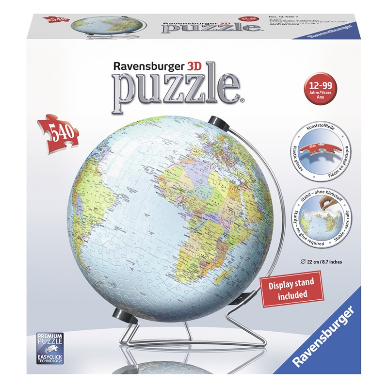 Ravensburger World Globe 540 bitar 12+ år