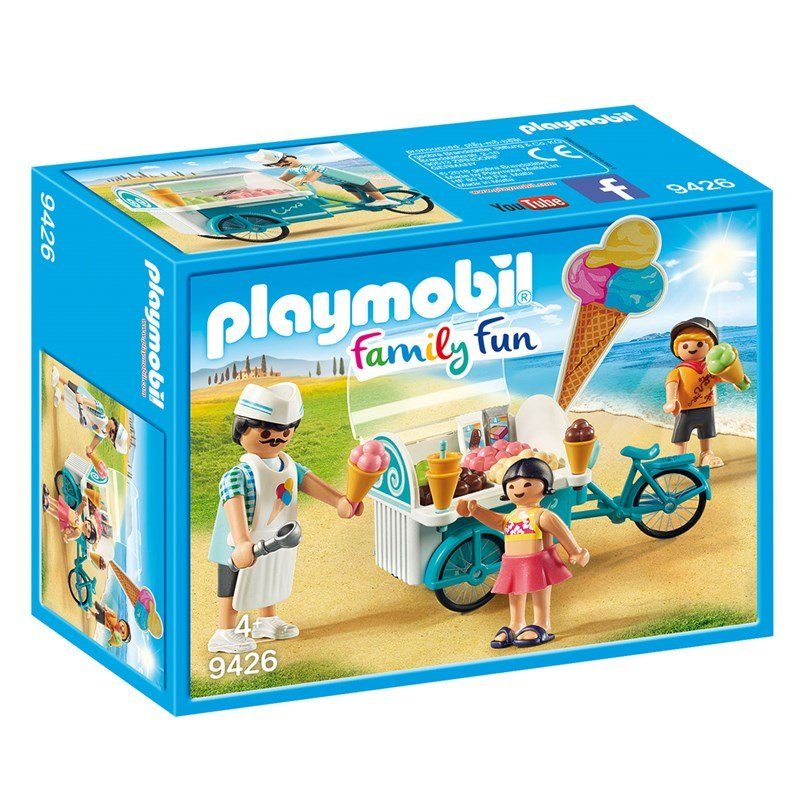 Playmobil 9426 Cykel med Glassvagn 4 – 10 years