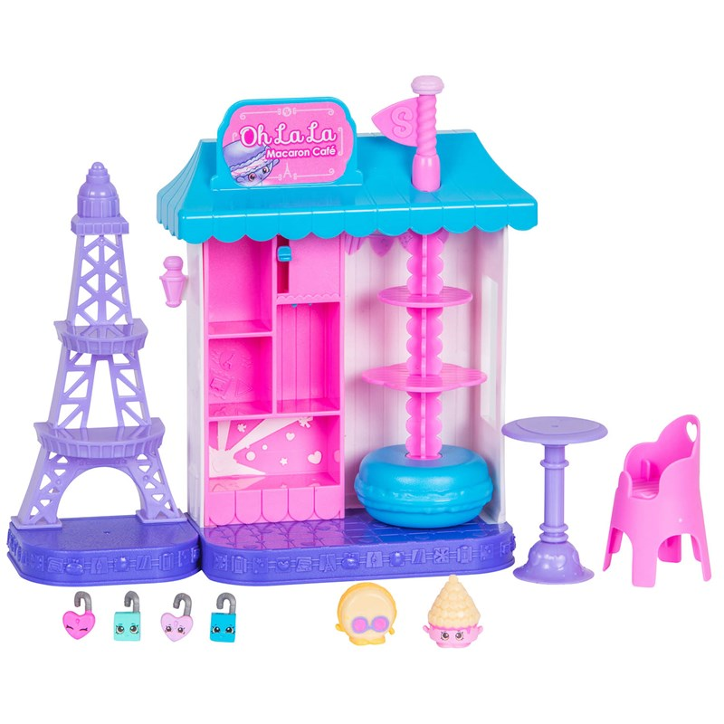 Shopkins World Vacation Europe Macaron Cafe 5 – 12 years