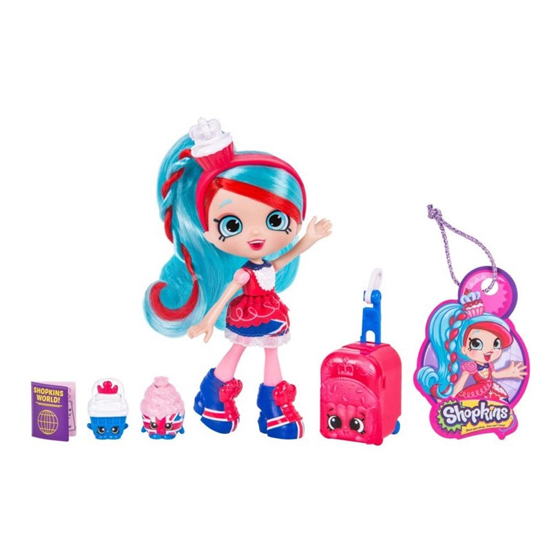 Shopkins World Vacation Europe Shoppie Jessicake Britain 5 – 12 years