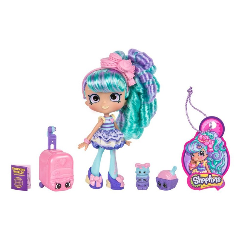 Shopkins World Vacation Europe Shoppie Macy Macaron France 5 – 12 years