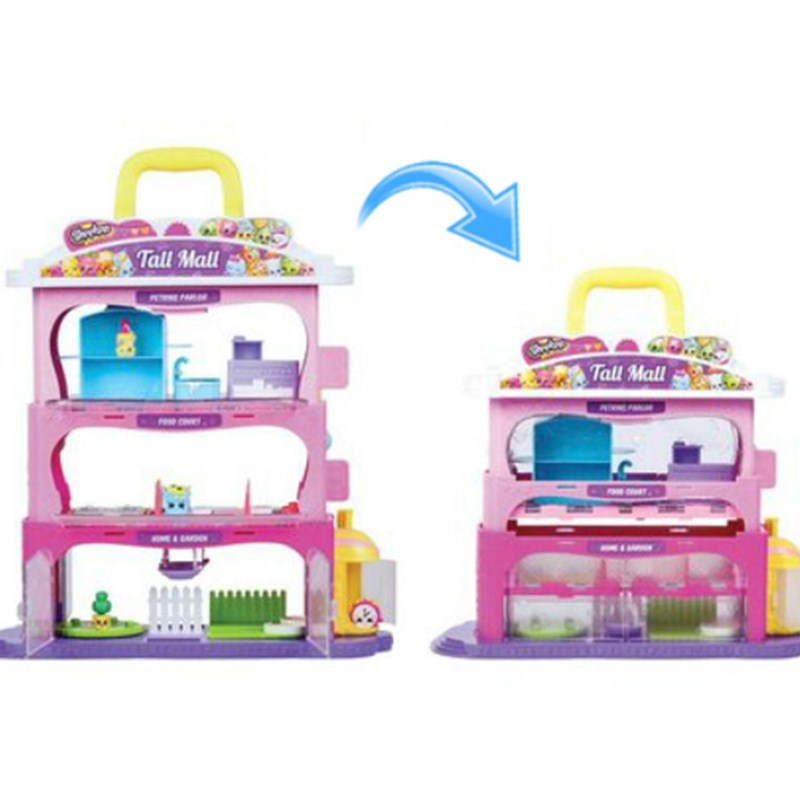 Shopkins Tall Mall Storage Case Shopkins One Size