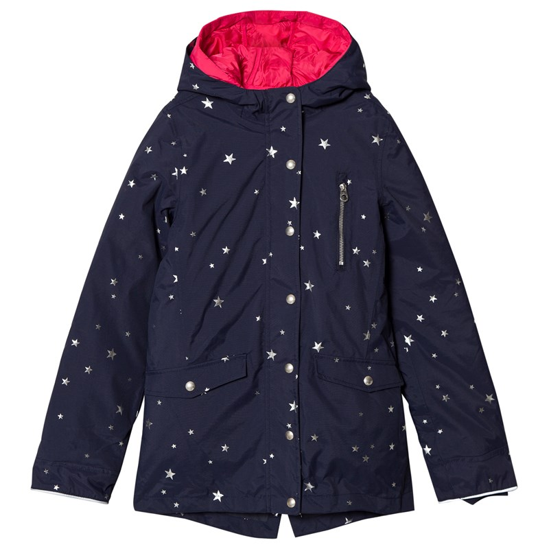Joules 3 i 1 Parkas Marinblå 4 years