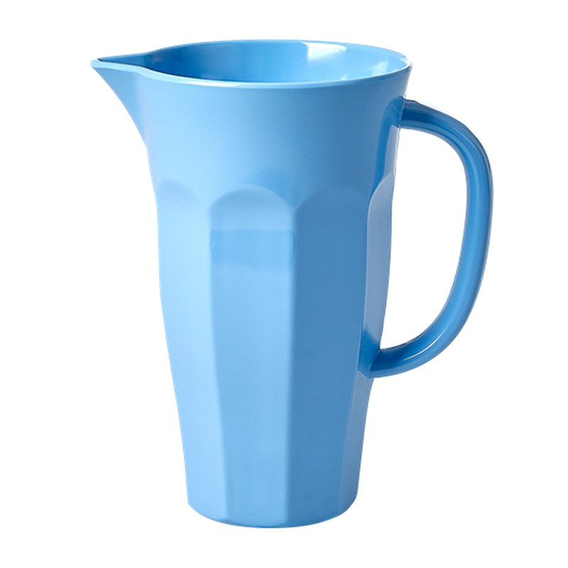 Rice Melamine Pitcher in Skye Blue small 1 l One Size