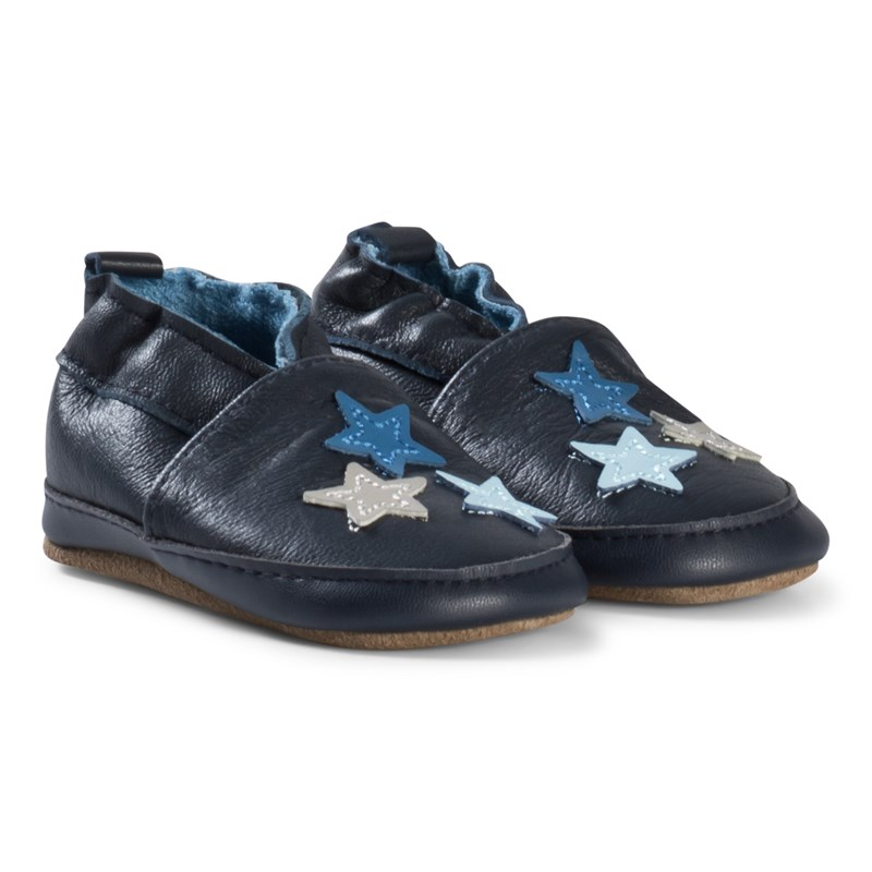 Melton Stars Blue Nights Läder 0-6M/16-19