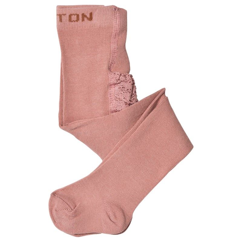 Melton Babytights med Volanger Rosa 1-2 Years