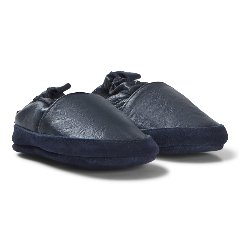 Melton Loafer Läder Blå 12-18M/22-23