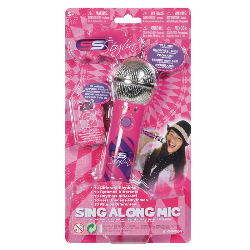 Supersonic Sing-Along Microphone with MP3 Funktion Rosa 7 – 10 years