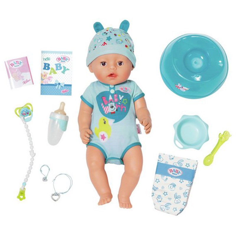 Baby Born Soft Touch Docka Blå 3 - 8 years