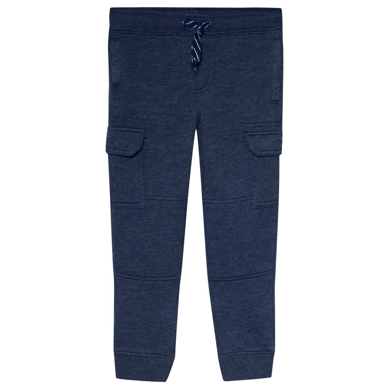 Lands' End Pull-Up Cargo Byxor Marinblå 5-6 years