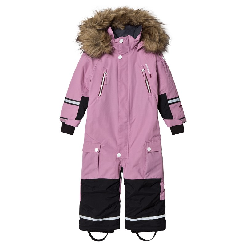 Tenson Bloom Overall Light Pink 98/104 cm