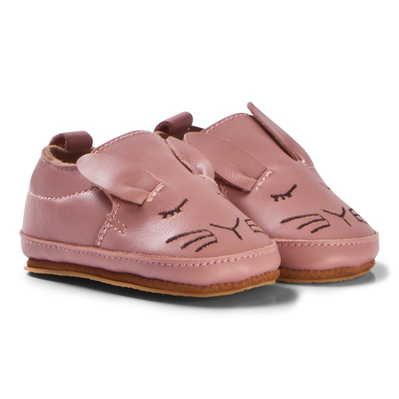 Melton Luxury shoe Rabbit Rosa Läder 6-12M/20-21