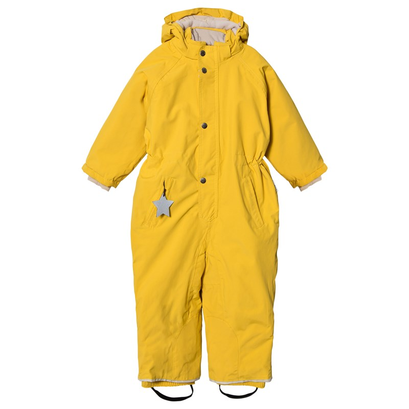 Mini A Ture Wanni Overall Bamboo Yellow 116 cm (5-6 år)