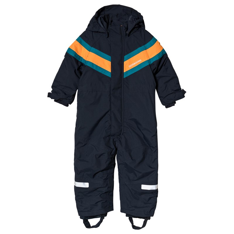 Didriksons Romme Kids Overall 2 Navy 130 (7-8 år)