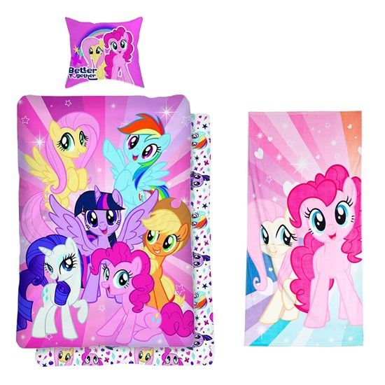 My Little Pony Paket My Little Pony Påslakanset + Badhandduk