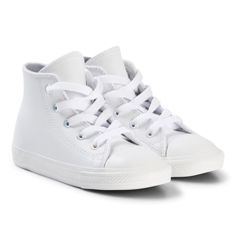 Converse White Chuck Taylor All Star Spädbarn Infant Hi Tops 24 (UK 8)
