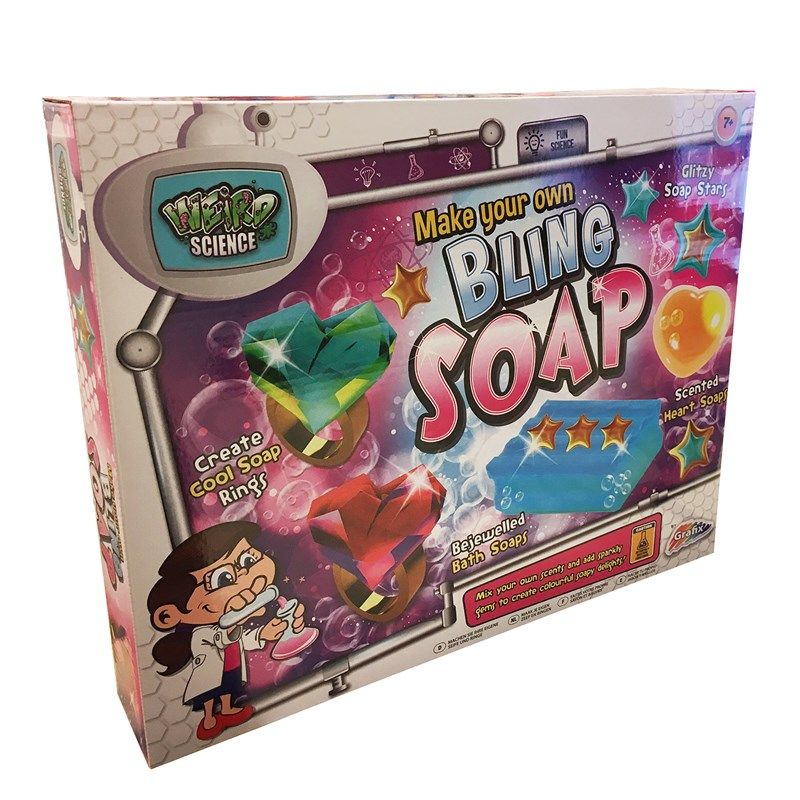Grafix Make Your Own Bling Soap Kit 7 – 12 years