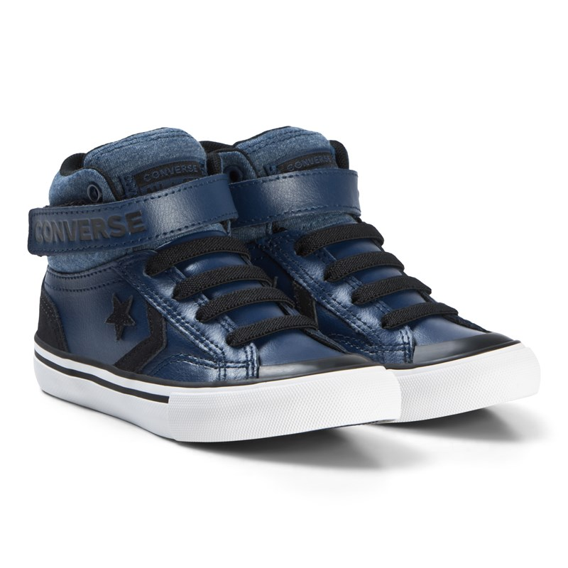 Converse Navy Pro Blade Junior Hi Tops 33 (UK 1)
