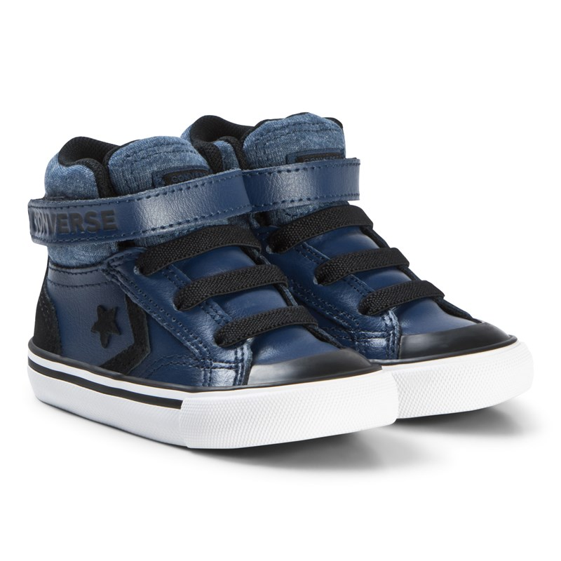 Converse Navy Pro Blade Infants Hi Tops 22 (UK 6)