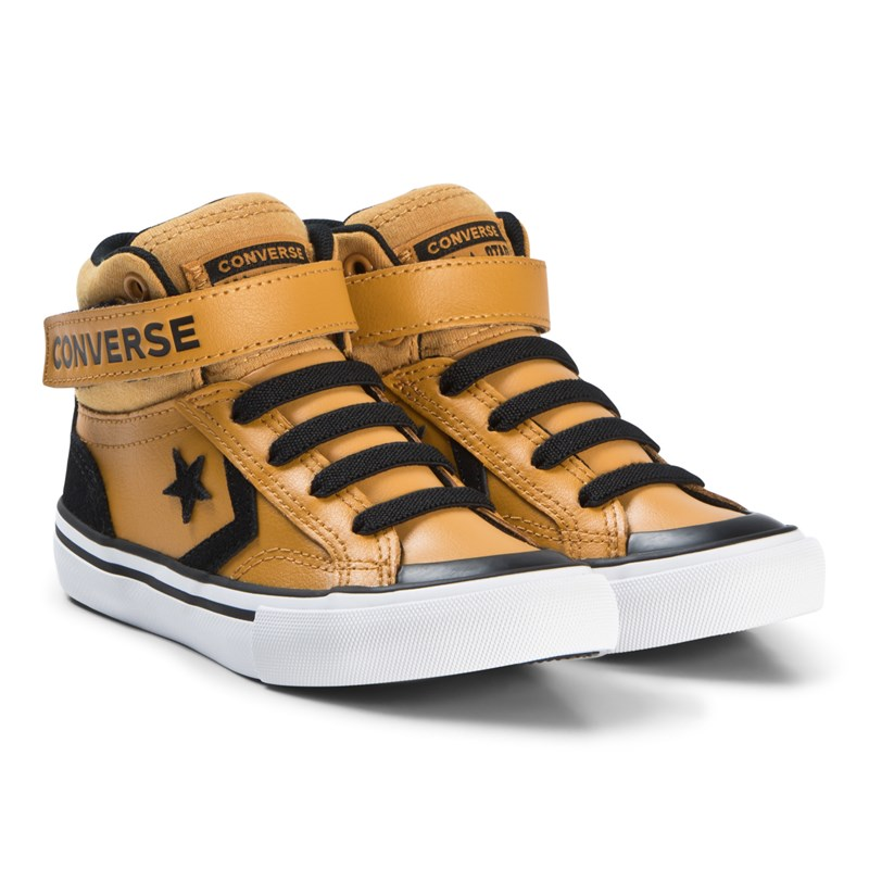 Converse Yellow Pro Blade Junior Hi Top Trainers 27 (UK 10)