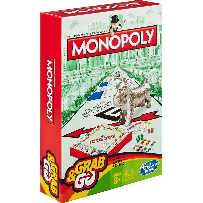 Hasbro Resespel Monopoly REFRESH 8+ years