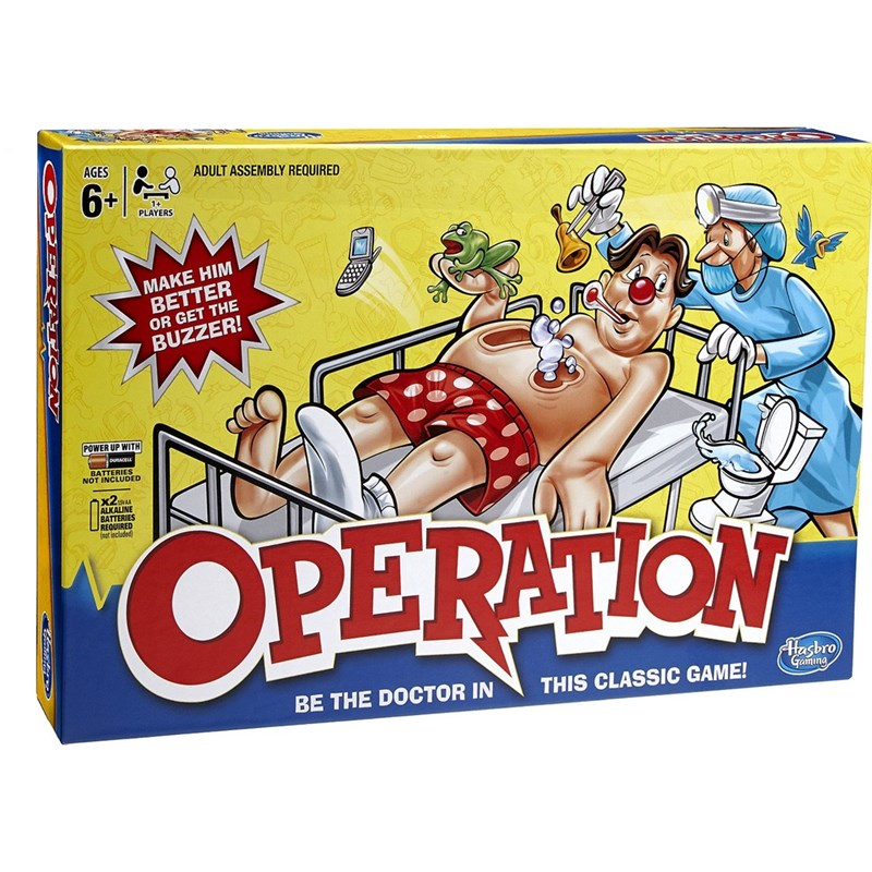 Hasbro Familjespel Operation 6+ years
